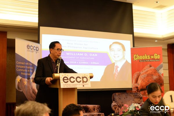BAVI Supports ECCP Forum with Agriculture Secretary