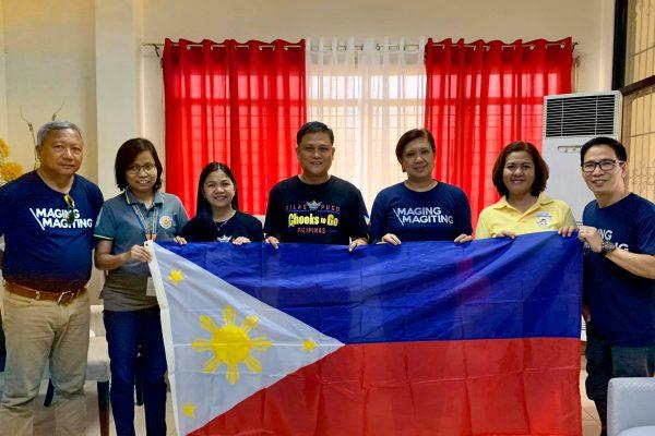 Magiting Magiting Flag Campaign Goes to Dagupan City