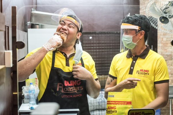 Top 3×3 Player Pasaol Gets a 'Taste' of Uling Roasters' New Normal