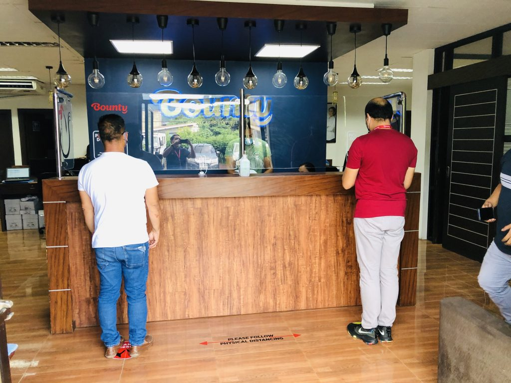 Bounty's Southern Tagalog Business Center in Sto. Tomas, Batangas
