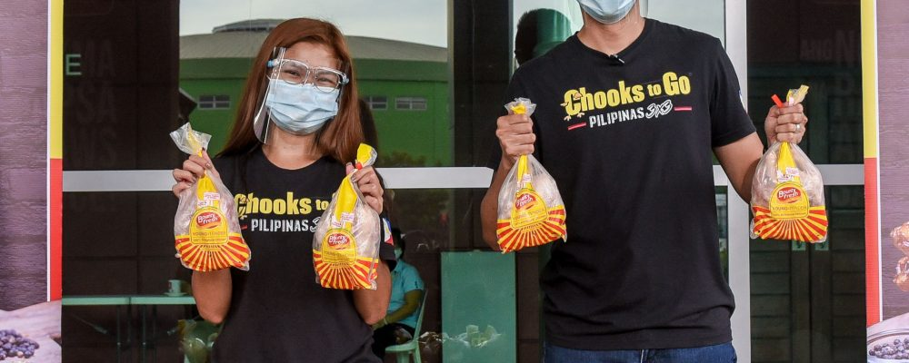 Chooks-to-Go Donates to Batangas Isolation Facilities