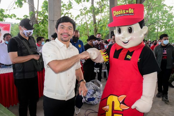 BAVI, Pacquiao Team Up to Help Disaster Survivors