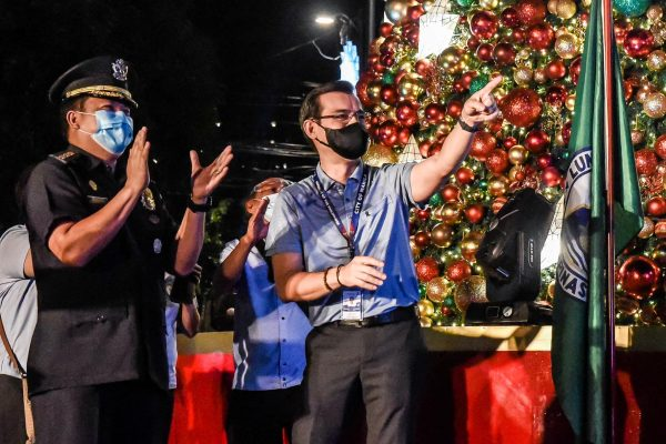 BAVI Joins Manila Mayor Isko Moreno at Christmas Tree Lighting