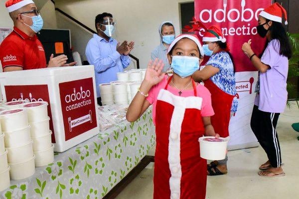BAVI, Adobo Connection Visit Home for Vulnerable Kids