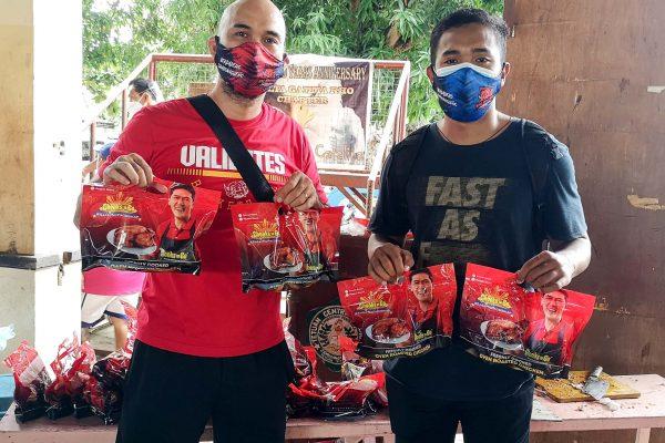 BAVI, Zamboanga Valientes Help Fire Victims