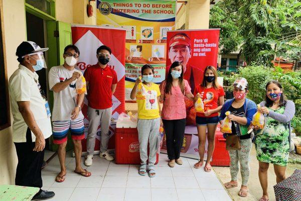 BAVI Continues Feeding Program in Cebu School