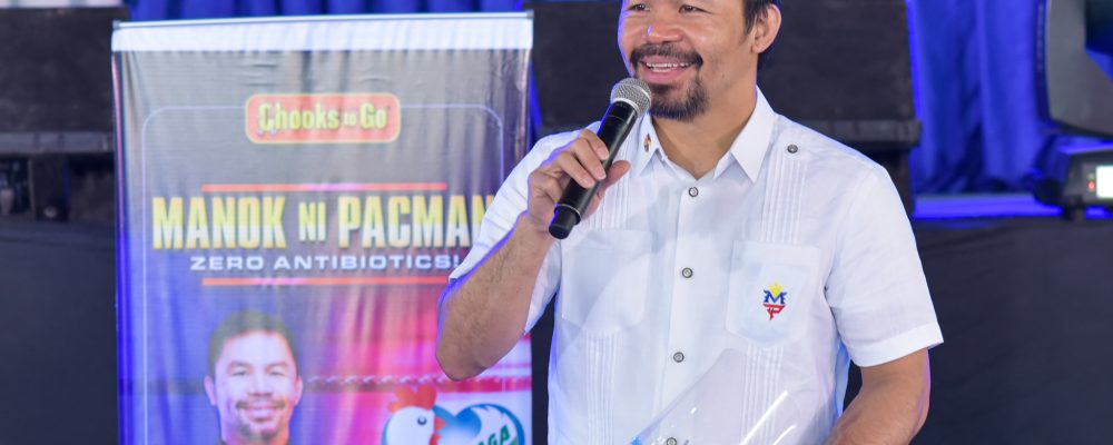 Manny Pacquiao in General Santos City