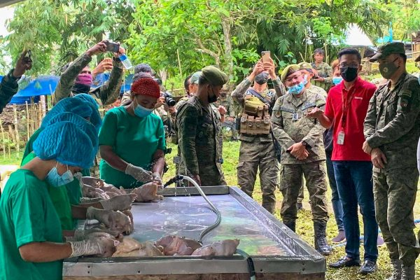 Poultry for Peace: BAVI, Army Provide Livelihood to Ex-Rebels