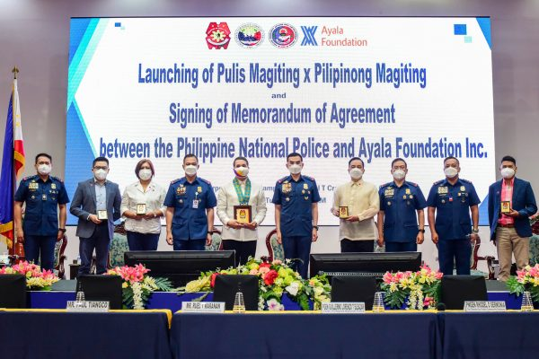 BAVI Joins Ayala Foundation in Honoring 'Pulis Magiting' Awardees