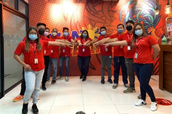 BAVI Luzon Awards Top Employees, Business Centers