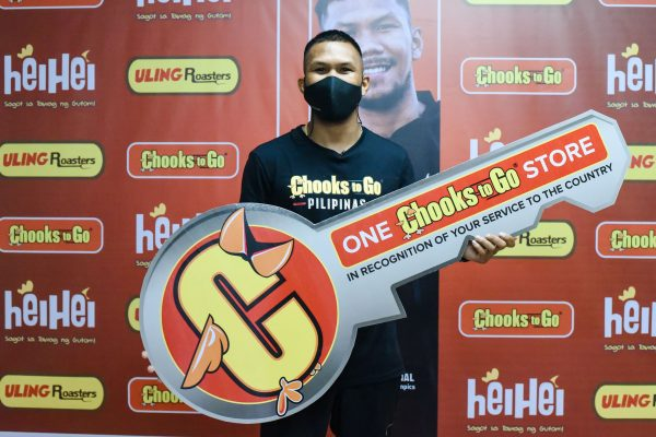 Chooks-to-Go Rewards Eumir Marcial With Own Store, Funding For Grassroots Program