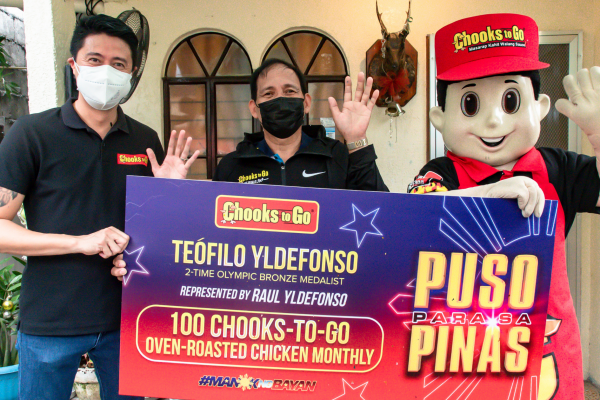 Chooks-to-Go Honors PH First Olympic Medalist and War Hero Teófilo Yldefonso