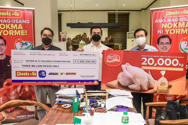 BAVI Donates PhP3 Million to Support Out-of-School Youth